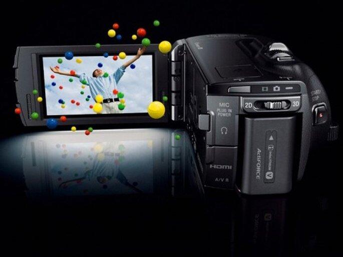 Videocámara para grabar en HD y 3D - Foto Sony