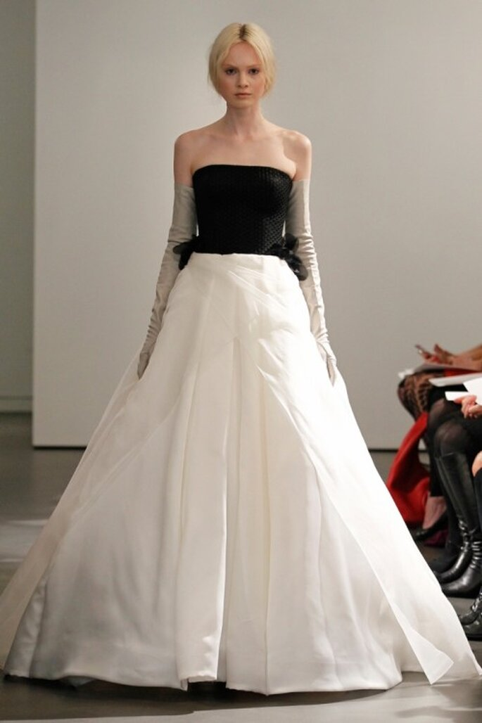 Vestido de novia Vera Wang colección primavera 2014