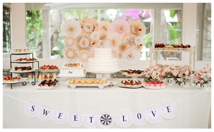 Les meilleures sweet table de 2013 - Photo Phoebe Joy Photography
