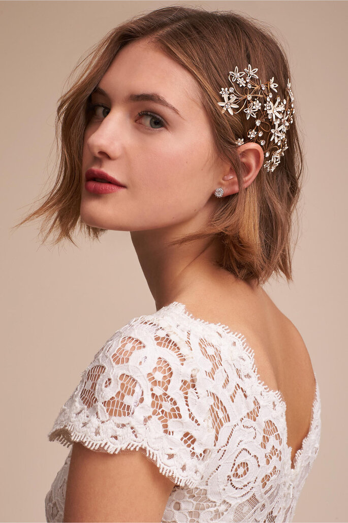 Headpiece Haarschmuck Brautfrisur HHeadpiece Brautfrisur Hochzeit Brautstylingochzeit Brautstyling