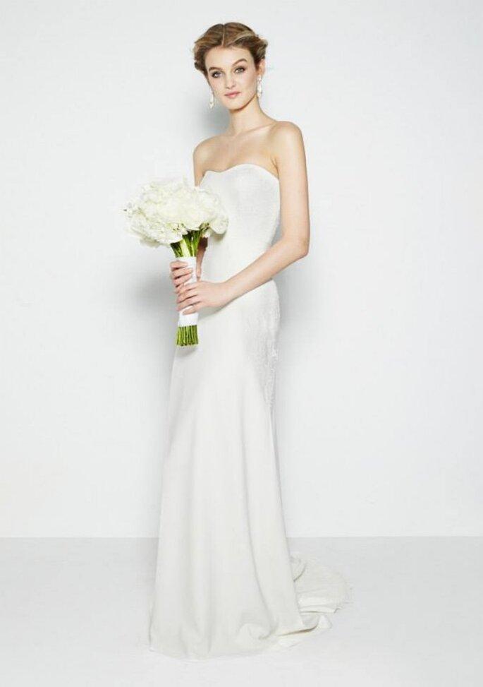 Vestidos de novia distinguidos por una belleza atemporal y líneas etéreas - Foto Nicole Miller