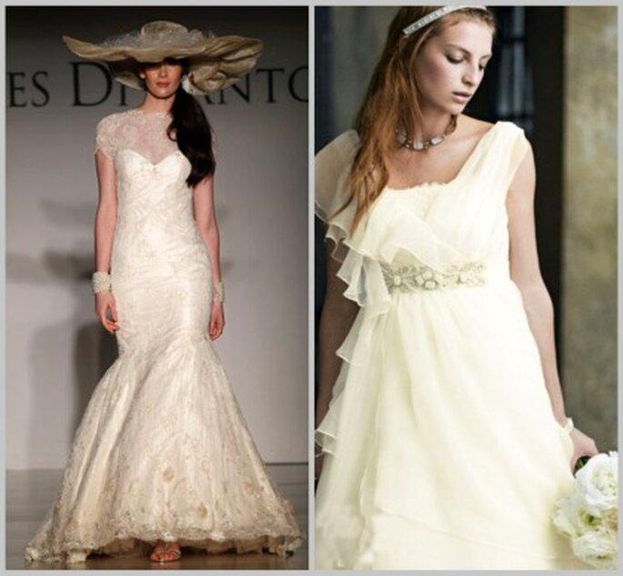 Las bodas en el campo piden vestidos de novia con un cierto romanticismo