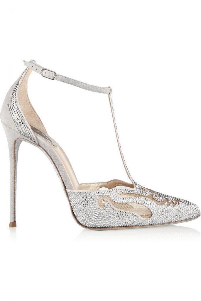 Zapatos de novia, Rene Caovilla. Credits: via Nêt-à-porter