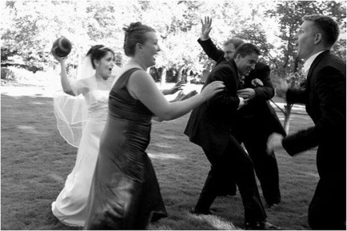 Sportliches Dankeschön. Foto: Beloved Events and Weddings