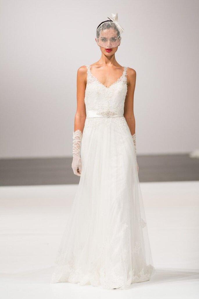 2aa21bd33 Vestidos de novia premamá  Conoce el tipo de vestido que mejor te ...
