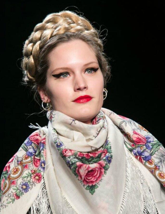 Trenzas, el peinado must para las novias con estilo - Foto Thomas Rafalzyk para L'oréal