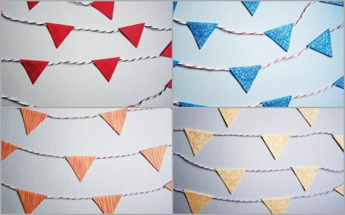 Pennant Bunting Garlands by The Guilded Bee
