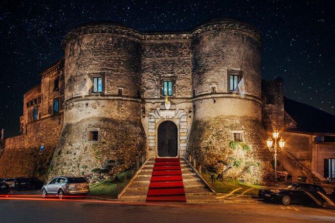 Castello di Faicchio - facciata del castello