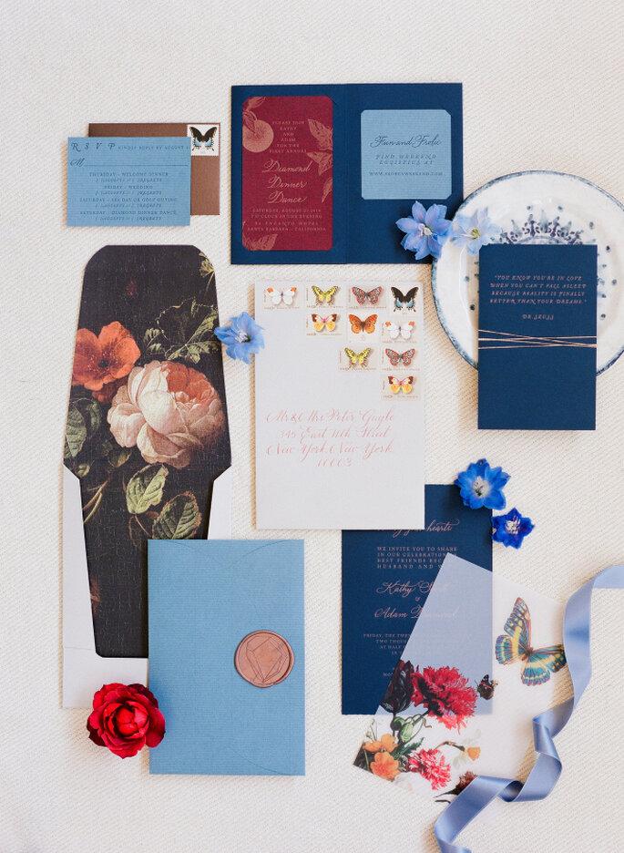 decoración azul marino - Corbin Gurkin
