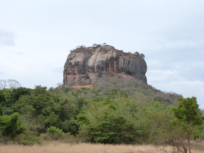 Photo : Sri Lanka Sigiriya Rock ©Sita
