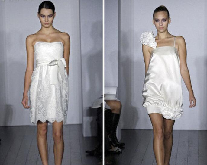 Vestidos cortos 2012, de Angela Wilson Bridal Studio