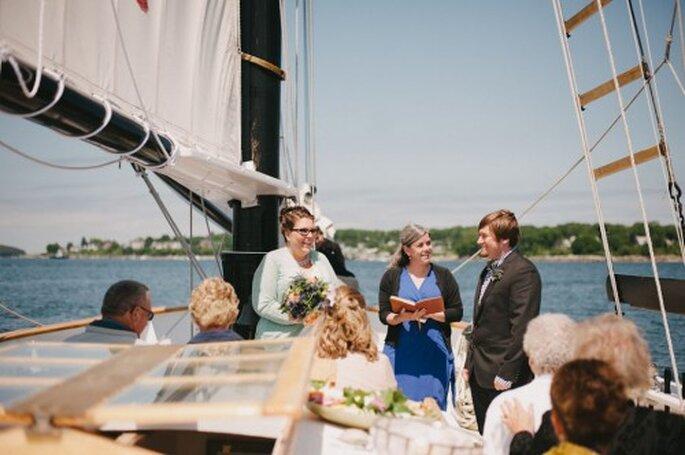 Hochzeit auf See – Foto: Alexandra Roberts