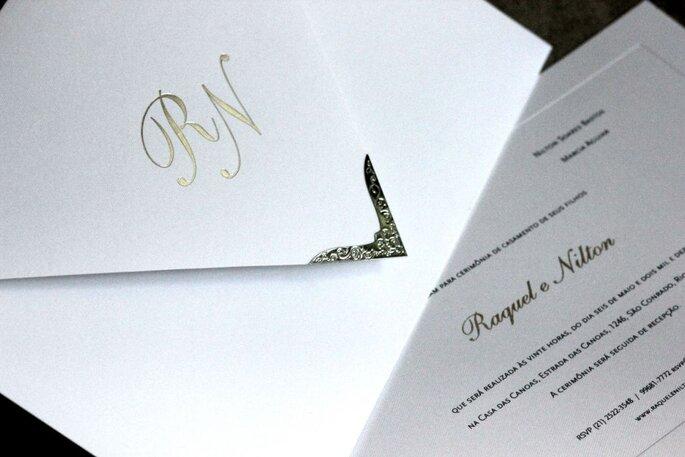 Letras grandes e douradas foram sucesso por muito tempo