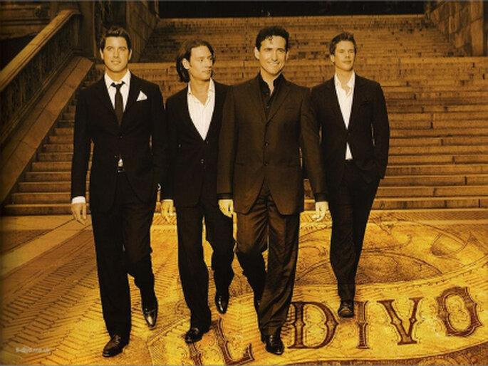 Una suave melodía del cuarteto Il Divo dará el toque romántico a esta ocasión