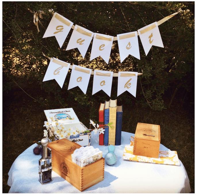 Decoración original para una boda vintage - Foto Cut the Cake Designs
