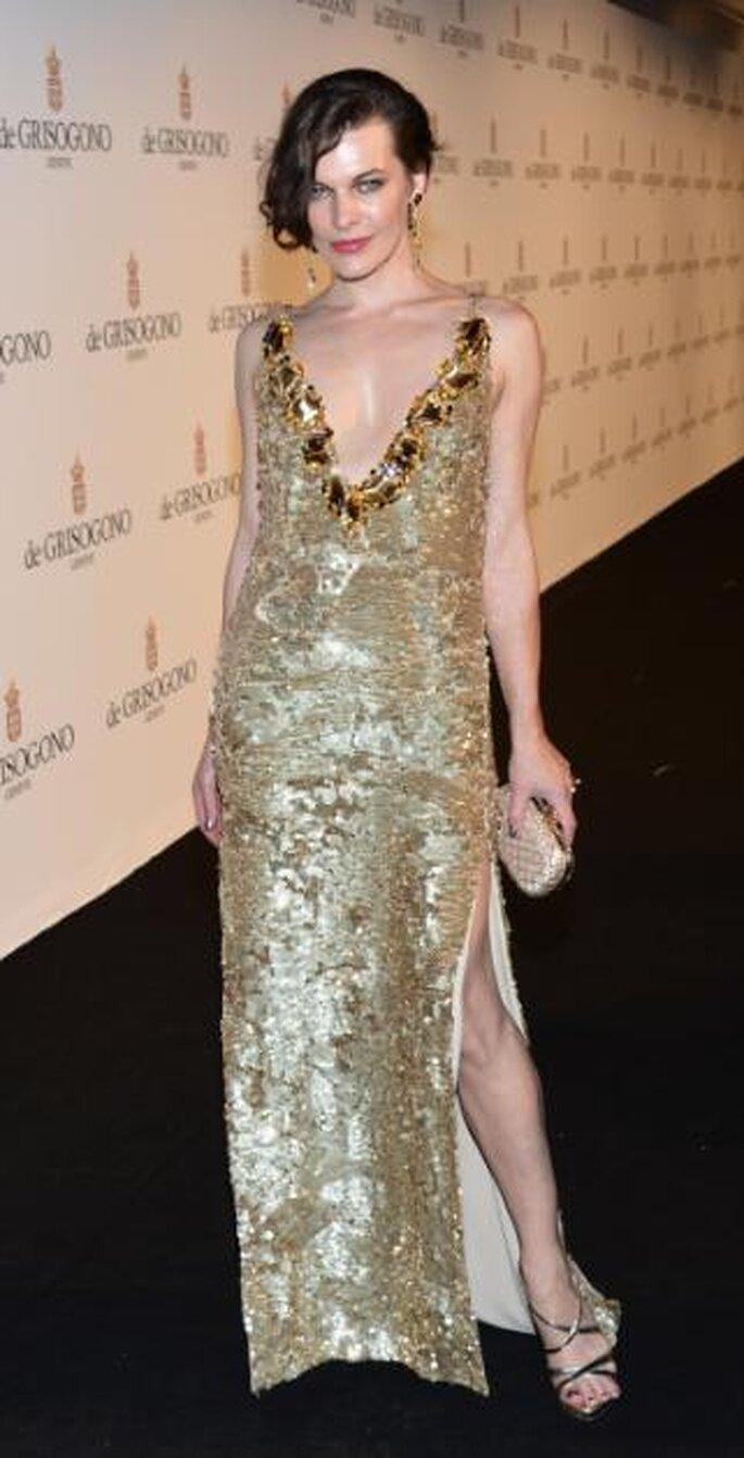 Milla Jovovich, Festival de Cannes 2012. Foto de Image.net.