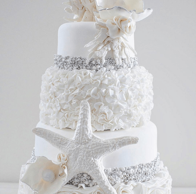 Photo : @sugarweddingcakes Instagram
