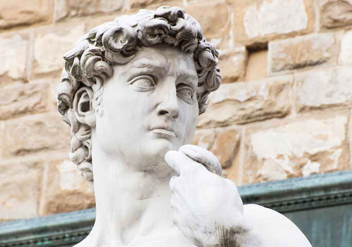 En Florencia encontrarás la mítica escultura del David de Miguel Ángel - Shutterstock