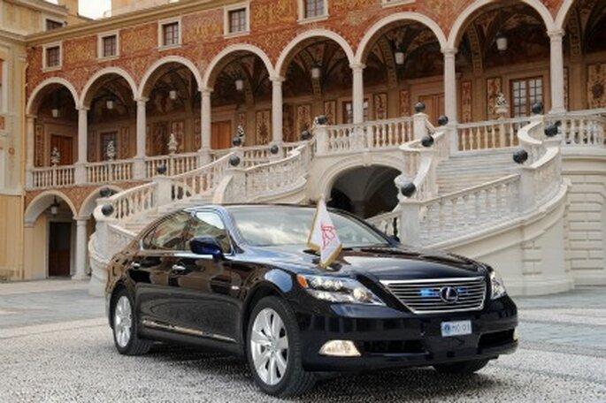 Lexus creado para la boda real de Mónaco