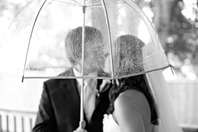 Tips para que tus fotos de boda bajo la lluvia queden muy lindas - Erin O'Neil Photography