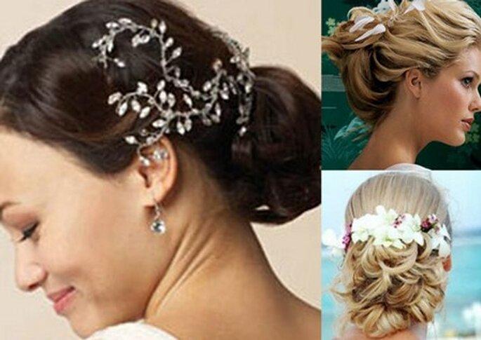 Penteados para noivas que querem levar o cabelo apanhado