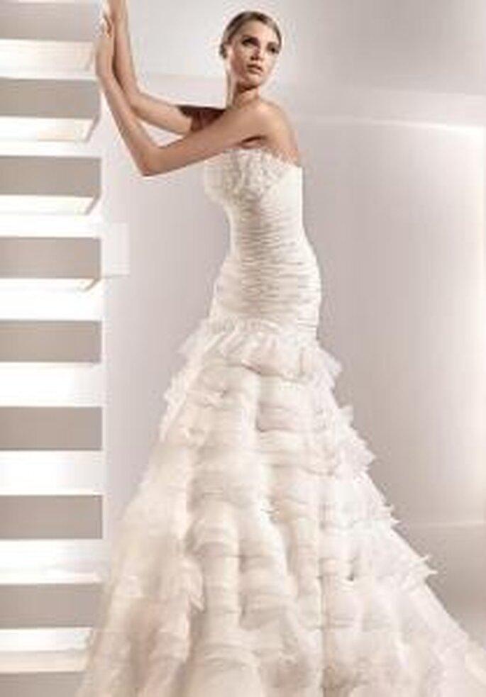 disfruta con los nuevos vestidos de novia pronovias 2010