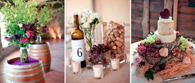 L'oenologie est le thème de mariage parfait pour un mariage en Aquitaine - Crédit Photos : Jennifer Bagwell Photography, John Paul Aguiar, Marianne Taylor Photography