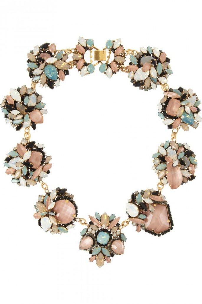 Statement necklaces para novia en tendencia - Foto Erickson Beamon