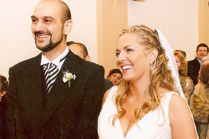 Boda en Argentina, con detalles de los dos países de origen de los novios. Foto: Wedding Factory
