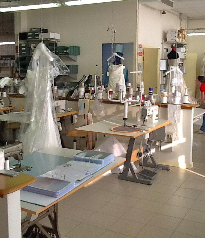 La sartoria di Galvan Sposa azienda leader nella produzione made in Italy - foto Galvan Sposa