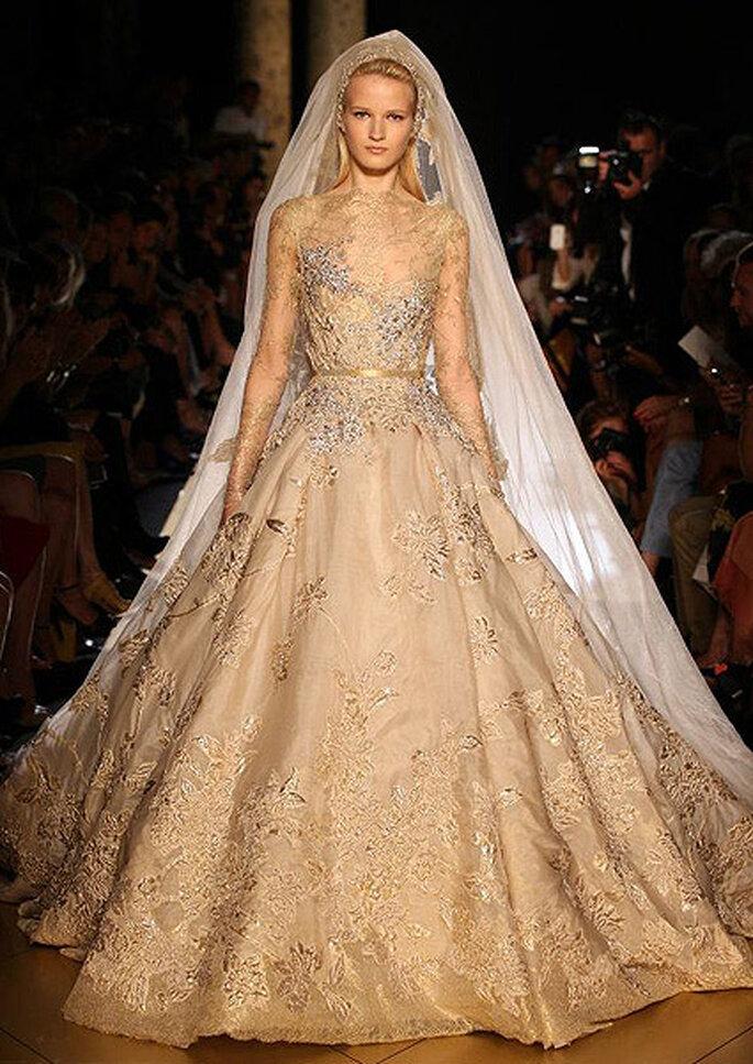 Robe de mariée Haute Couture Elie Saab, automne-hiver 2012-2013. Photo: Elie Saab