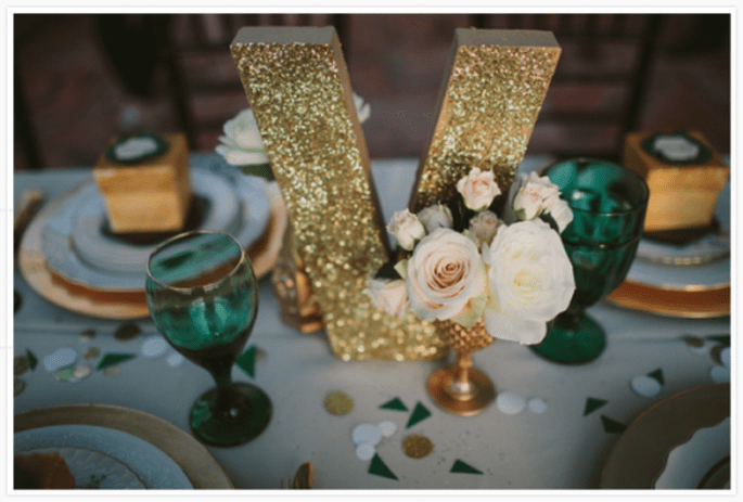 Décoration de tables de mariage inspirée par Noel - Photo Studio 222 Photography