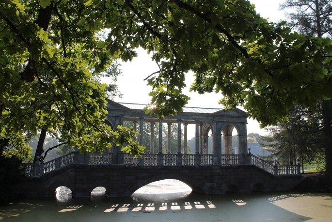 Царское село, Мраморный мост