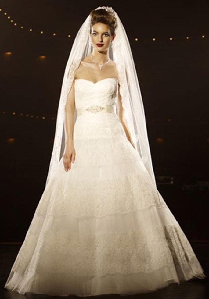A-Linie Hochzeitskleid - Model 3195 von Lilly Passions