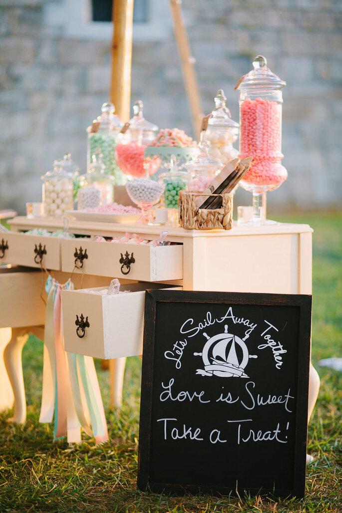 Detalles para una boda shabby chic - Lisa Rigby Photography