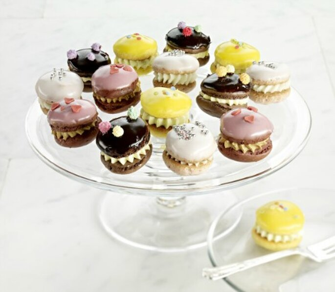 Mini whoopies comme dessert de mariage : top tendance ! - Source : Strawberry Mag