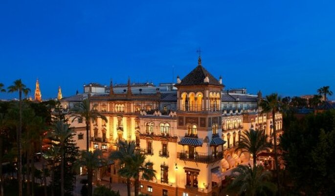 L'Hôtel Alfonso XIII à Séville : un cadre extraordinaire