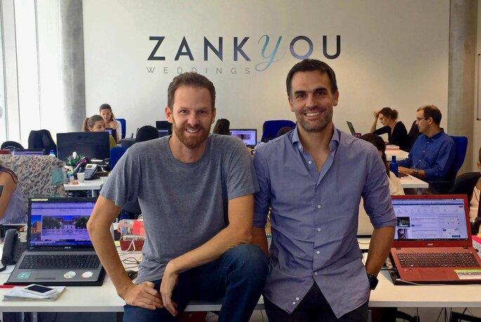 Guillermo e Javier, i due founder di Zankyou