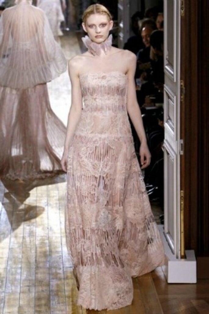 Vestido de novia Valentino 2012