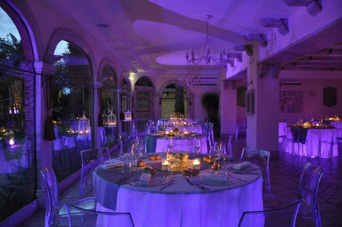Amis Catering & Banqueting - banchetto a lume di candela