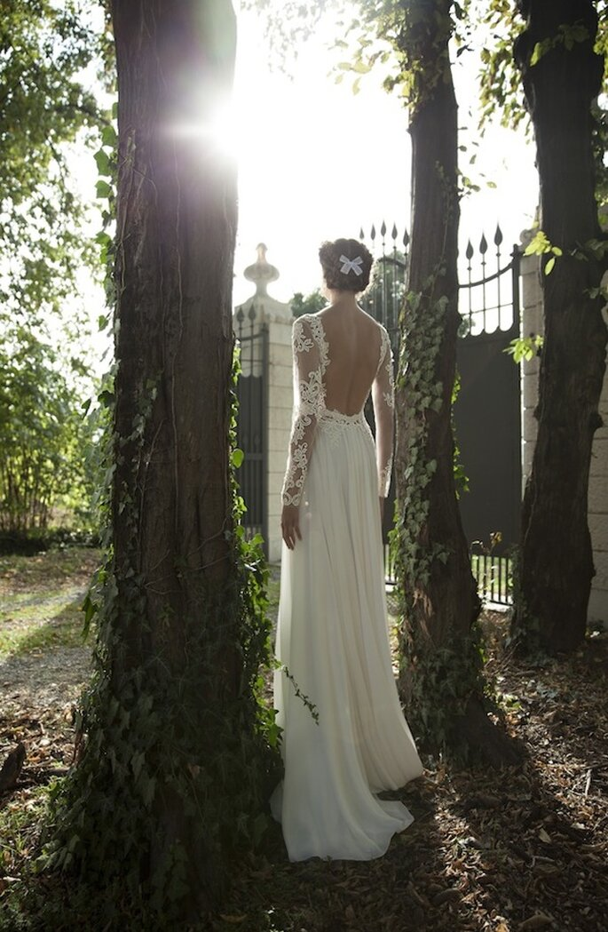 Vestido de novia ideal para una chica glam - Foto Berta Wedding