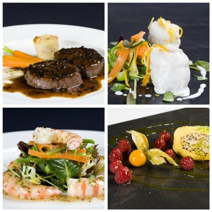In Zalacaín ofrece 9 menús distintos con nombres de pintores- Foto: In Zalacaín