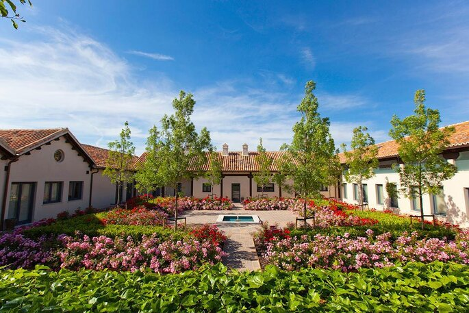 Finca la monta a una boda espectacular en el m gico aranjuez for Finca la montana aranjuez precios