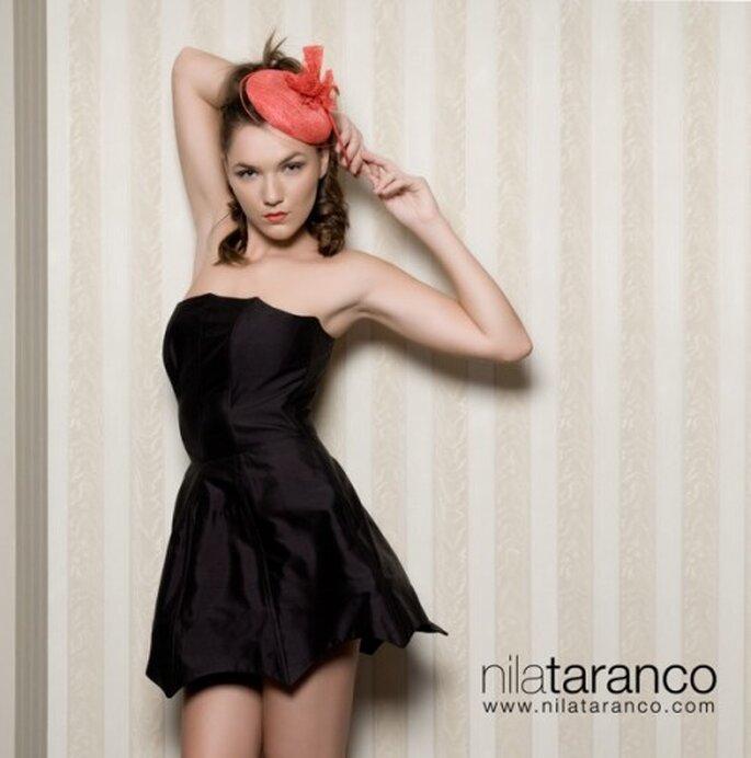 Atención personalizada y compras vía Skype de exclusivos tocados para novia - Foto Nila Taranco