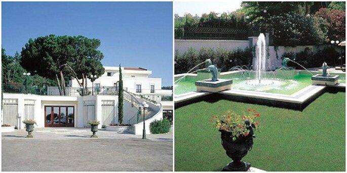 Due immagini dell'esterno del Domus Caesari Foto: Pagina Facebook Domus Caesari