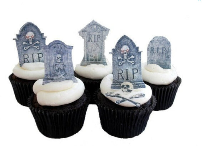Cupcake version cimetière. Photo: www.etsy.com