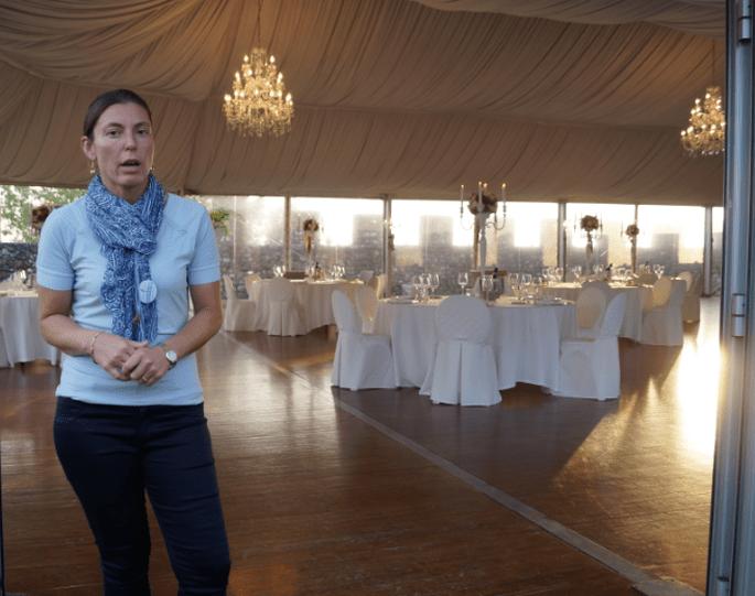 Roberta, la responsabile della Fondazione Ugo da Como