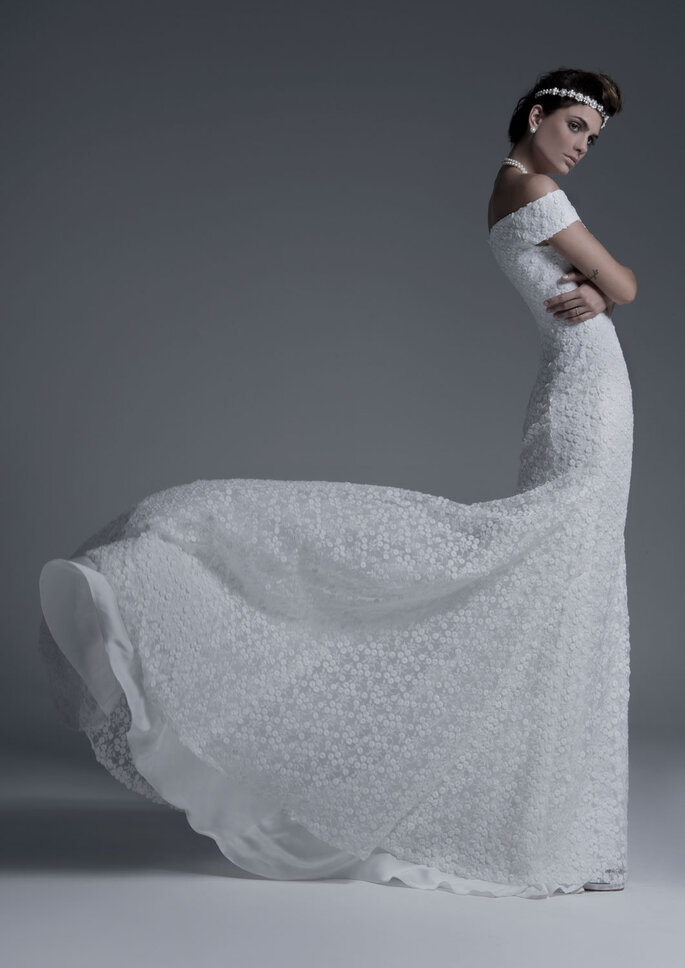 Vestido: Mariana Biasi - Foto: Studio Faya