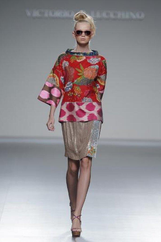 Desfile Mercedes Benz fashion week Medrid 2012. Foto de Image Net.