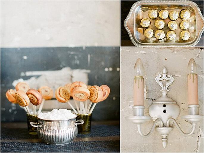 Pour votre cocktail et repas de mariage, optez pour un traiteur de qualité - Photo : Alea Lovely